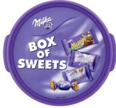 Bonboniéra Box of Sweets Milka