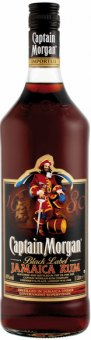 Rum Black Jamaica Captain Morgan