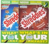 Cereálie Shreddies Nestlé