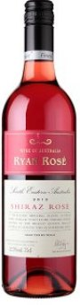 Víno Shiraz Rosé Ryan Tesco Finest