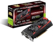 Grafická karta Asus GeForce GTX 1050 Ti Expedition EX-GTX1050TI 4G