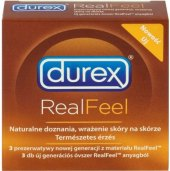Kondomy Real Feel Durex