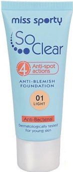 Make up So Clear Anti-spot Foundation Miss Sporty