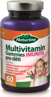 Vitamíny Multivitamin Gummies Imunita Naturline