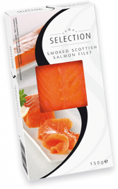 Uzený skotský losos filet Selection