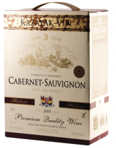 Víno Cabernet Sauvignon Kazayak - bag in box