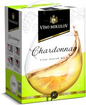 Víno Chardonnay Víno Mikulov - bag in box