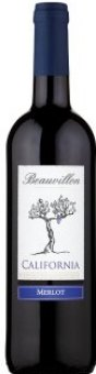 Víno Merlot California Beauvillon