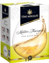 Víno Müller Thurgau Víno Mikulov - bag in box