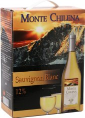 Víno Sauvignon Monte Chilena - bag in box
