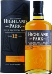 Whisky 12 YO Highland Park
