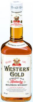 Bourbon Whisky Western Gold